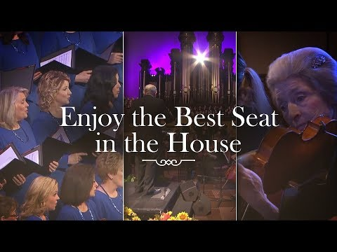 "Celebrate Easter with ""Messiah"" - Live Stream Concert with the Mormon Tabernacle Choir"