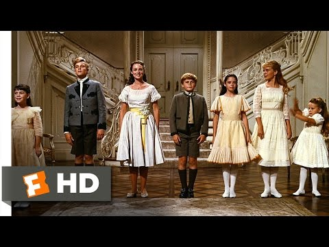 The Sound of Music 55 Movie CLIP  So Long, Farewell 1965 HD