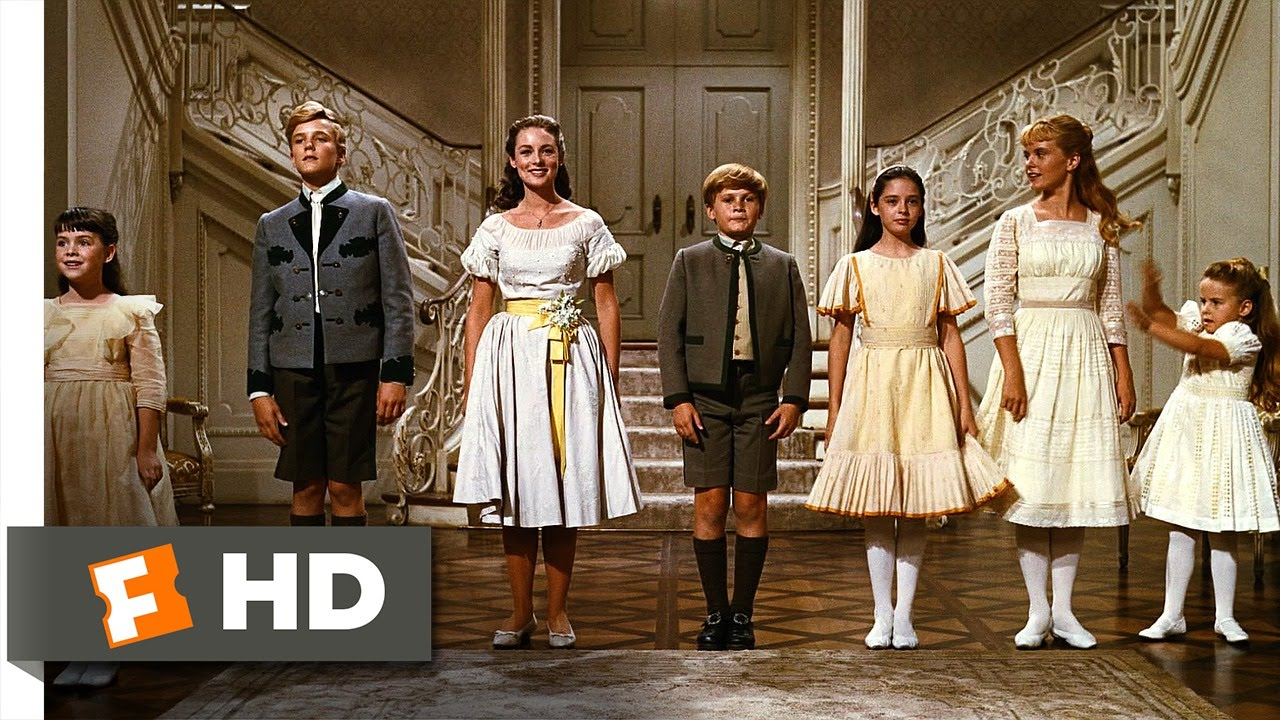 The Sound Of Music 5 5 Movie Clip So Long Farewell 1965 Hd
