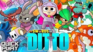 The Swords of Ditto Gameplay! PC and PS4! (Quick Play)