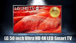 LG 50 inch Ultra HD 4K LED Smart TV (50UM7700PTA)