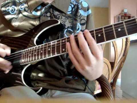 The Devil Wears Prada - Dez Moines (guitar cover) w/HQ audio