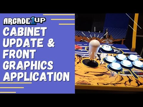 Arcade 1Up (Space Invaders) Mod - Part 4 - Cabinet Update and Front Graphics from Rob Young