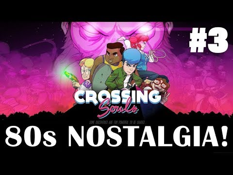 Let's Play Crossing Souls part 3 - Live Crossing Souls PS4 gameplay
