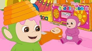 Teletubisie Po Polsku 2 - Tiddlytubbies NOWY: Tubby Custard Train (Pełny odcinek)