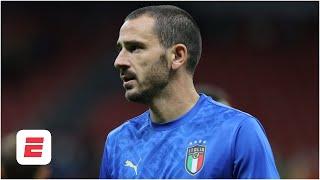 Did Leonardo Bonucci's red card vs. Spain deserve an apology?