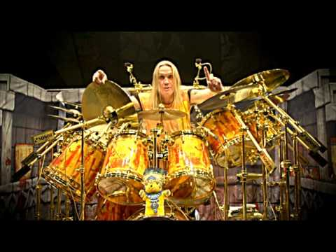 """Nicko McBrain: SONOR """"The Book Of Souls"""" Drumkit Tour"""