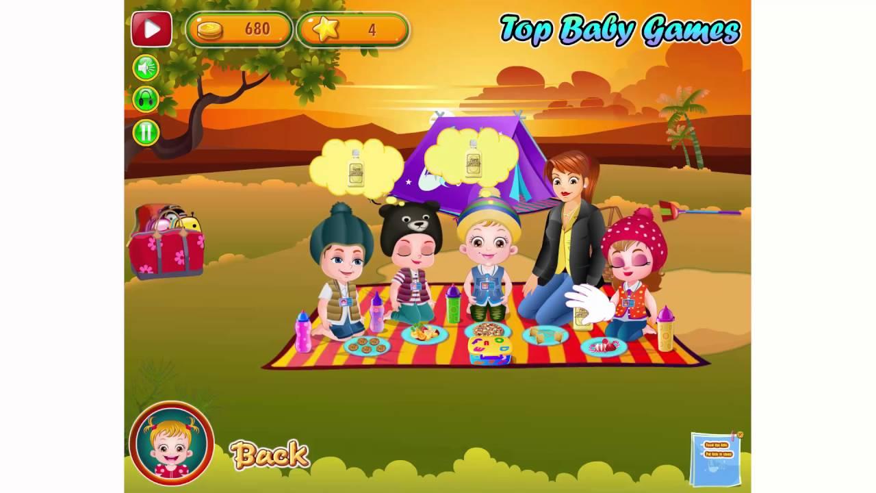 Baby Hazel Summer Camp - Kids Game For Girls