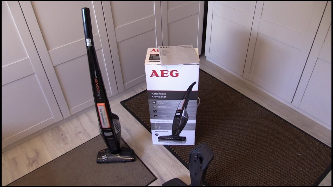 aeg eco li 50 ultrapower ag 5020 handstaubsauger test youtube. Black Bedroom Furniture Sets. Home Design Ideas