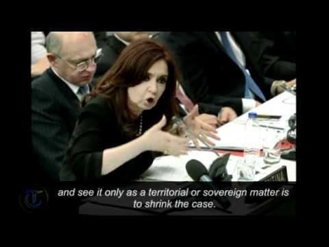 UK must 'negotiate' over Falklands islands sovereignty Argentina President tells UN