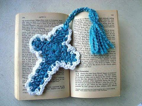 How To Crochet A Cross Youtube