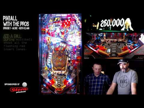Pinball With The Pros - S01E01 AC/DC with Keith Elwin