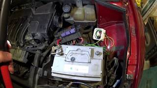 Renault Laguna 2 автопроект. Решение проблемы аварийного режима и проверка педали газа