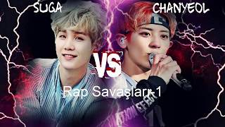 Video [BTS] Suga VS Chanyeol [EXO] - (Rap Battle) download MP3, 3GP, MP4, WEBM, AVI, FLV Juli 2018