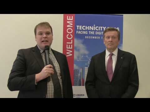 Mayor John Tory - How does Toronto stack up as a 'smart city' on the world stage?