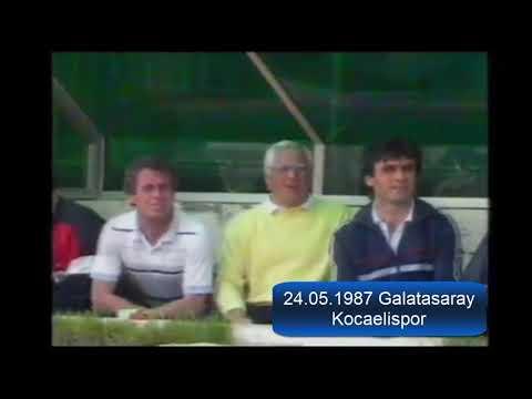 1986 1987 Galatasaray Kocaelispor 35.Hafta Maçı | SarıKırmızı Arşiv