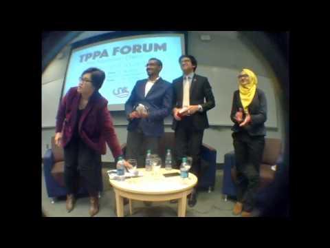 NAMSA's TPPA Forum: The Malaysian Dilemma @ Drexel University, Philadelphia