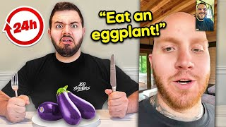 I let YouTubers pick what I eat for 24 hours…