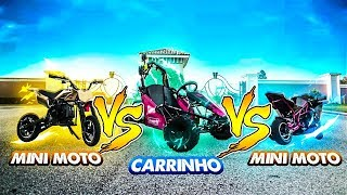 MINI MOTOS A GASOLINA VS CARRO A GASOLINA ‹ PORTUGAPC ›