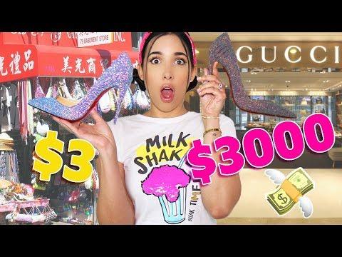 ZAPATO BARATO vs CARO 👠 - $30 vs $3000 CUÁL ES MEJOR? 💸 | Mariale