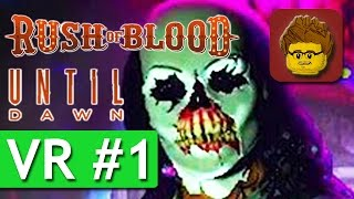 Until Dawn: Rush of Blood - #1 - PlayStation VR - Let's Play - PS4 Pro VR - German Gameplay