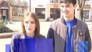 2018-03-27 г. Брест. Парад студенческой молодежи. Новости на Буг-ТВ. #бугтв