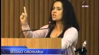 """Vereadora Amanda Gurgel sobre PT e PSDB: """"É o sujo falando do mal lavado"""""""