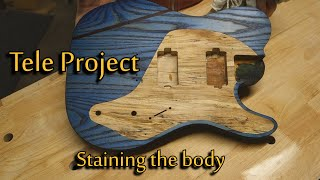 Tele Project | Staining the body