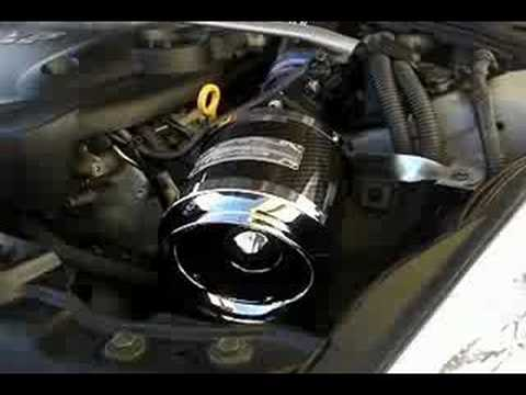 NISSAN 350Z FAIRLADY Z33 CARBON AIR INTAKE - YouTube