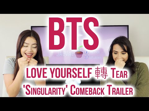 BTS (방탄소년단) LOVE YOURSELF 轉 Tear 'Singularity' Comeback Trailer Reaction