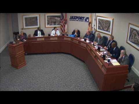 Oct. 23, 2017 JAXPORT Board of Directors meeting
