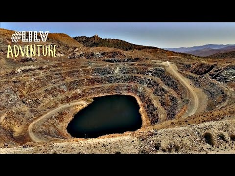 Abandoned Colosseum Gold Mine outside Las Vegas