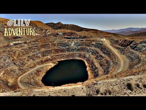 Abandoned Colosseum Gold Mine Outside Las Vegas