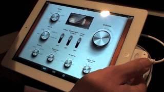 Panasonic demo of Blu-ray and Home Cinema remote App
