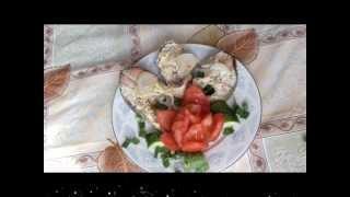 Новогодние рецепты Очень сочная  горбуша в сметанном соусе    рыба жареная
