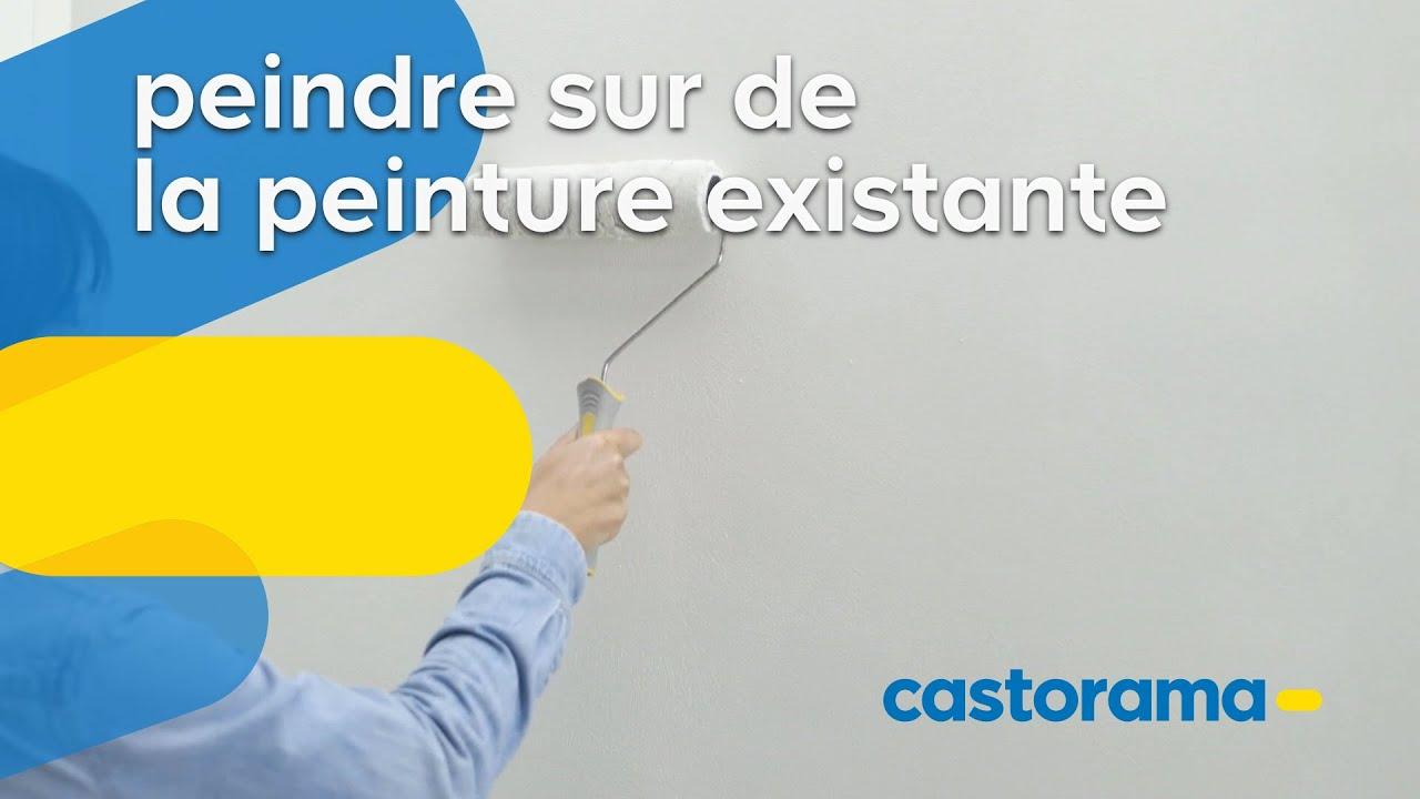 Comment peindre sur de la peinture existante - Castorama - YouTube