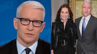 Anderson Cooper Tears Up and Admits He Feels
