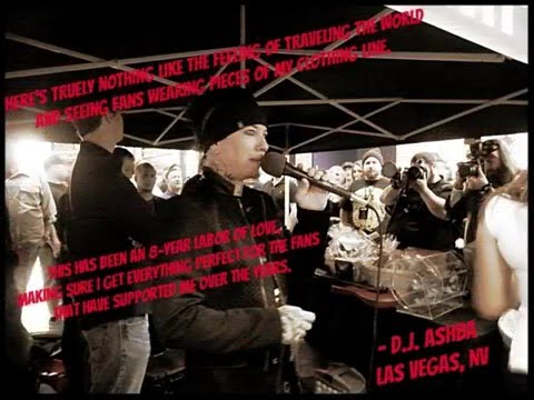 DJ Ashba Clothing Store Grand Opening Las Vegas
