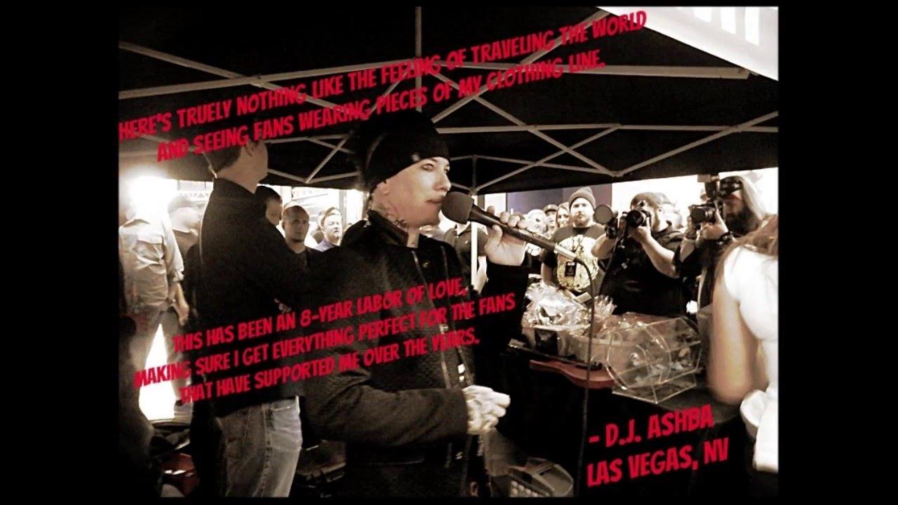 Dj Ashba Clothing Store Grand Opening Las Vegas Youtube