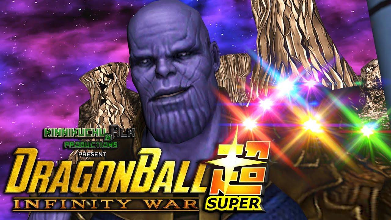 Goku Vs Thanos: DBZ Tenkaichi 3 (MOD