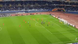 Real Sociedad Salzburgo 2-1 gol de falta januzaj