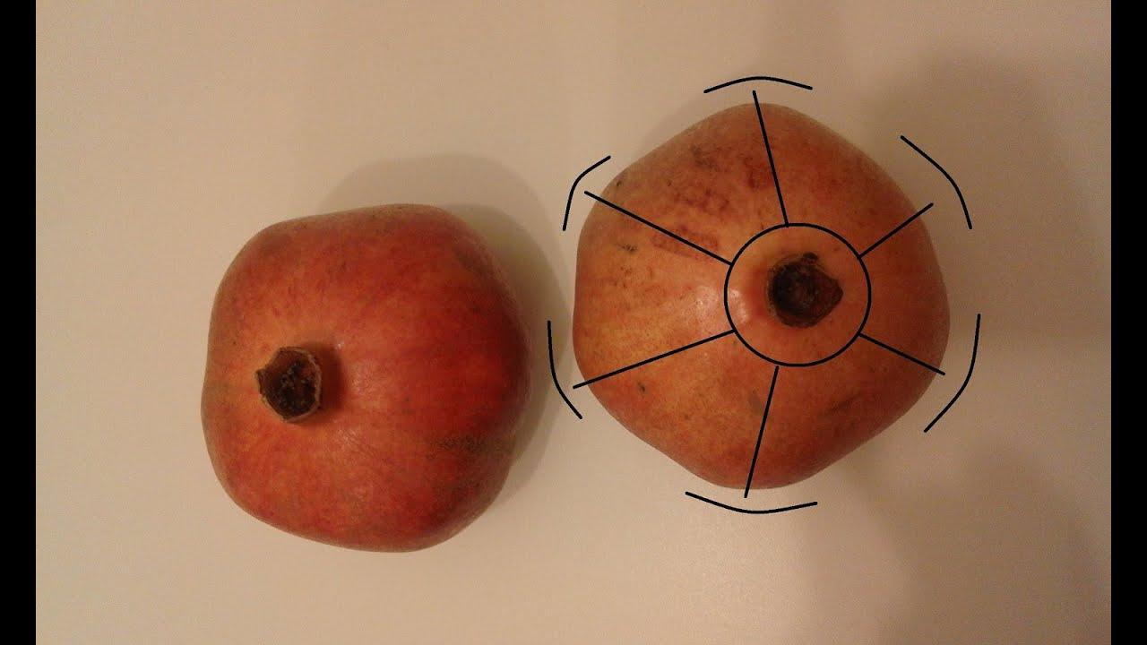 granatapfel aufschneiden ffnen wie schneidet man einen granatapfel auf youtube. Black Bedroom Furniture Sets. Home Design Ideas