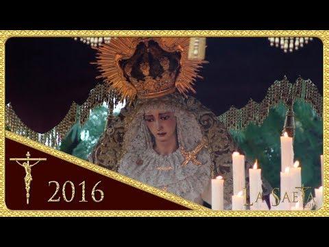 María Santísima del Rosario  - Salida - Hdad. de la Milagrosa (Sevilla 2016)