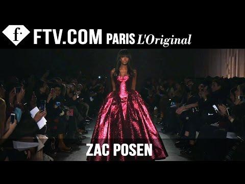 Zac Posen Fall/Winter 2015 Show ft. Naomi Campbell | New York Fashion Week NYFW | FashionTV