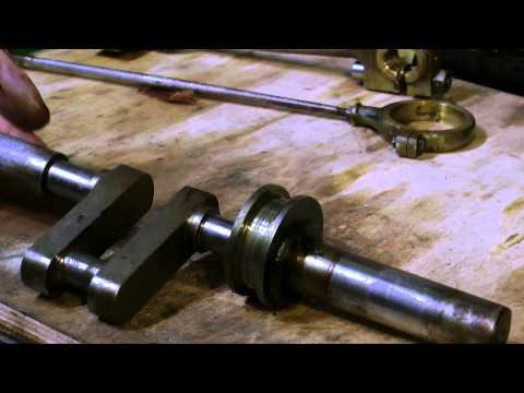 PART #6 - RENOVATING A VINTAGE WORKSHOP TYPE STEAM ENGINE