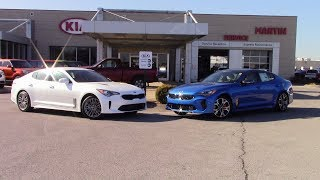 1st EVER 2018 Kia Stinger 4Cyl vs 6Cyl side by side comparison with Acceleration tests!