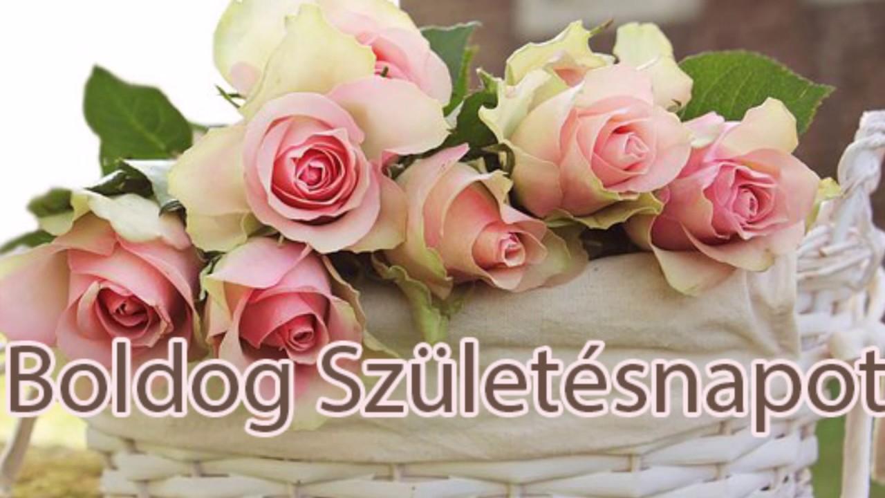 születésnapi rózsás képek Születésnapi videó rózsákkal   YouTube születésnapi rózsás képek