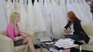 как выбрать свадебное платье? Анастасия Ледовская хозяйка креативной студии