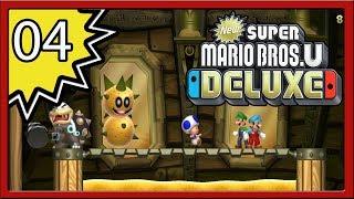 New Super Mario Bros. U Deluxe - Part 4 (4-Player)