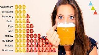 ¿Cuánto cuesta una cerveza en el mundo?